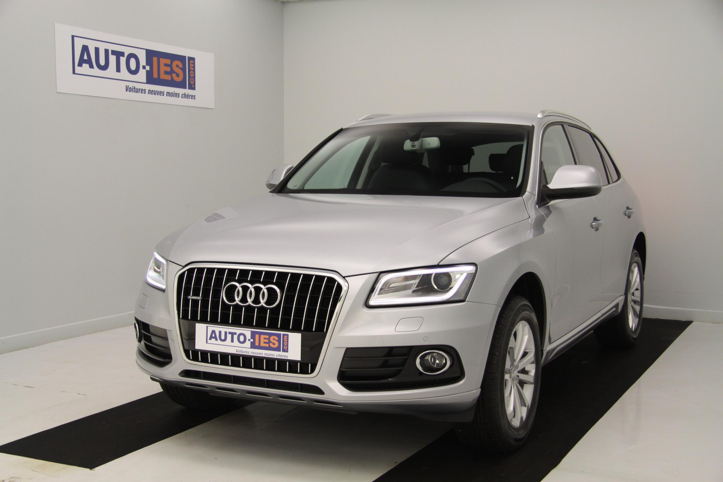 audi q5 2 0 tdi clean diesel 190 quattro ambition luxe s tronic 7 argent fleuret avec options. Black Bedroom Furniture Sets. Home Design Ideas