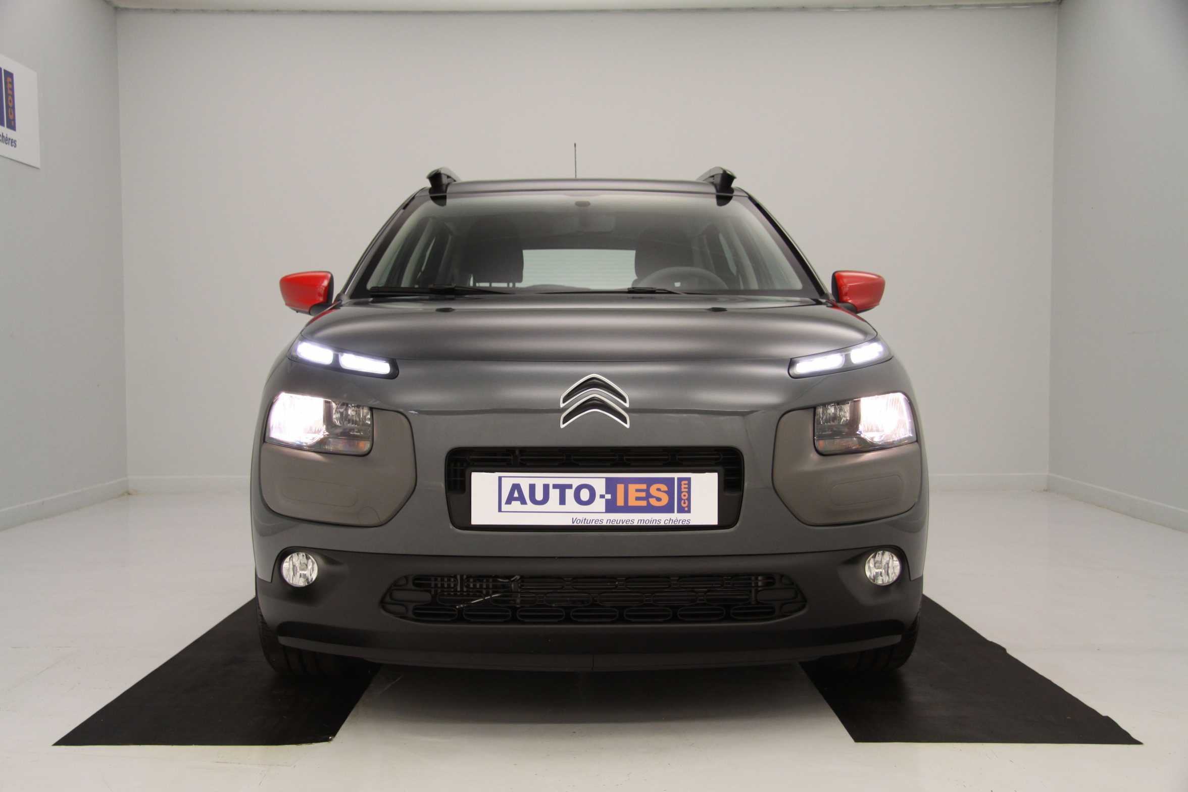 citroen c4 cactus e hdi 92 feel etg6 gris shark airbump. Black Bedroom Furniture Sets. Home Design Ideas