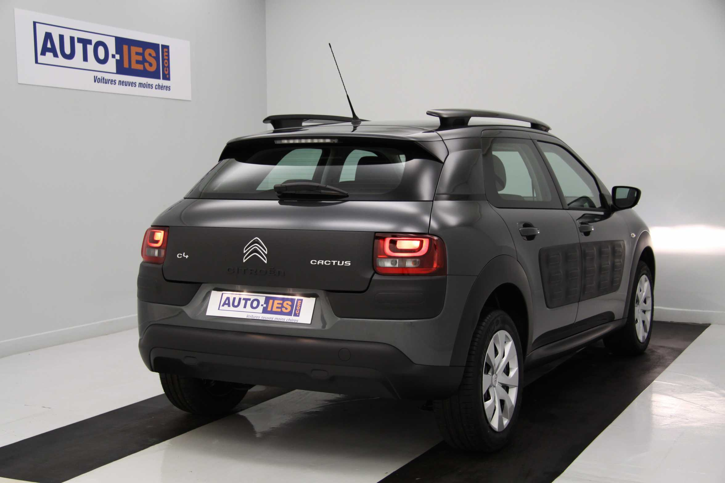 citroen c4 cactus bluehdi 100 s s feel gris shark v hicule de direction avec km avec. Black Bedroom Furniture Sets. Home Design Ideas