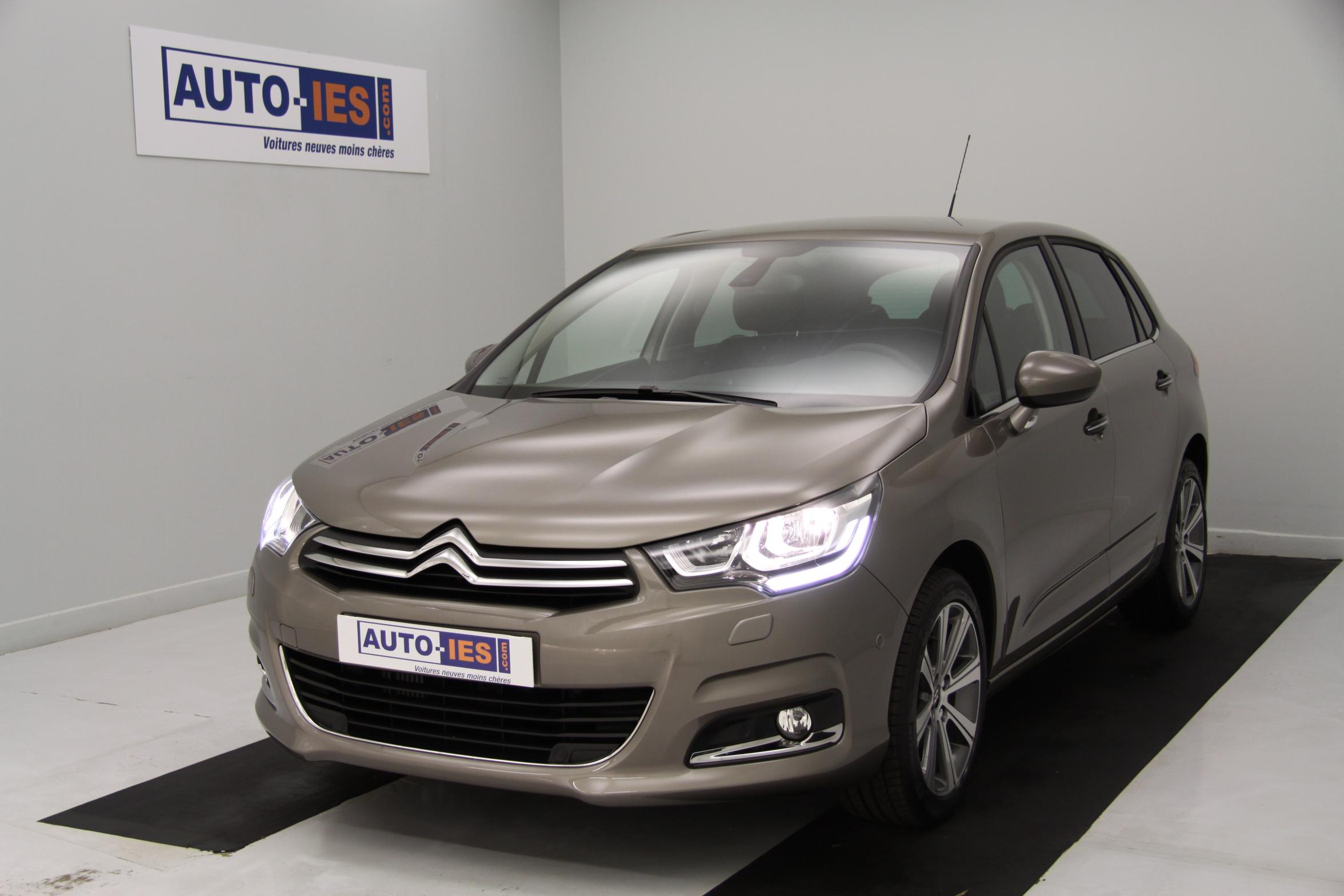 citroen c4 bluehdi 120 s s shine spirit grey avec options 19 832. Black Bedroom Furniture Sets. Home Design Ideas
