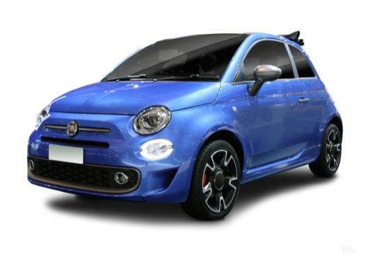 FIAT 500 Cabrio 1.2 69 ch Club Eco Pack Série 4