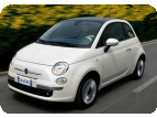 FIAT 500 1.2 8V 69 ch Lounge New Age Cream sur�quip�e avec 1.860� d'options
