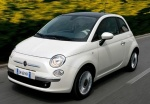 FIAT 500 1.2 8V 69 ch Lounge Bossa Nova White avec options