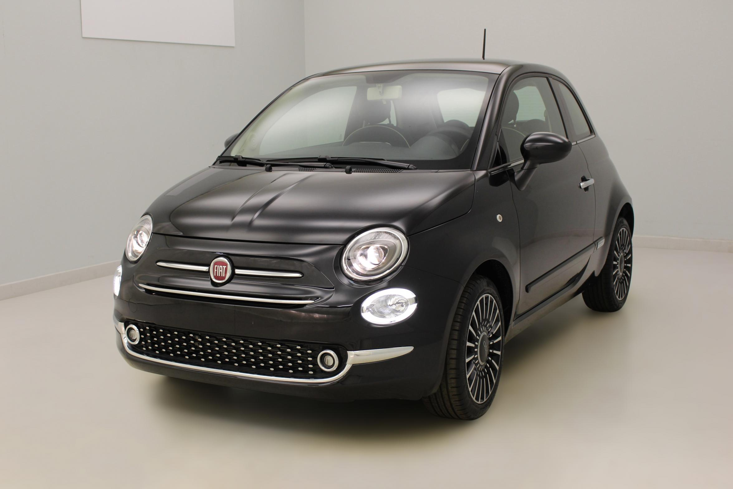 "FIAT 500 1.2 69 ch Popstar Crossover Black + Jantes alliage 16"" New Club+ Climatisation automatique avec options"