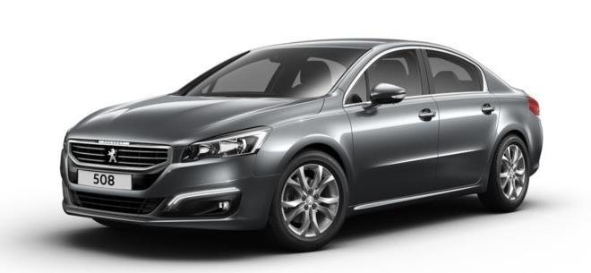 PEUGEOT 508 1.6 BlueHDi 120ch S&S EAT6 Allure avec options