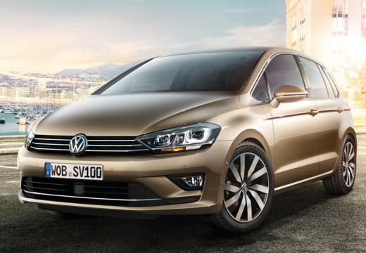 VOLKSWAGEN Nouvelle Golf Sportsvan 1.6 TDI 90 FAP BlueMotion Technology Trendline avec options